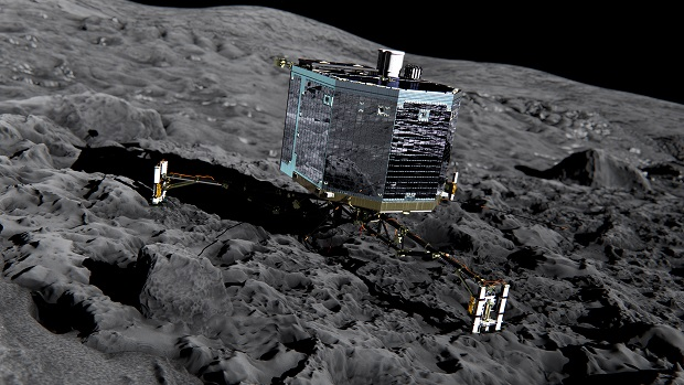 Spacecraft Hibernating on Comet's Surface Finally Wakes Up after 7 Months