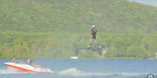 World Record for Farthest Hoverboard Flight