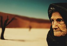 old woman and aging